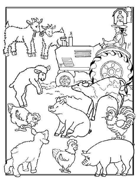farm coloring pages coloringpagescom