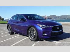 2017 Infiniti QX30 Sport is a quirky little crossover