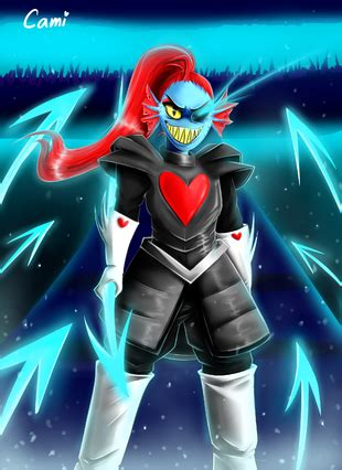 undyne glitchtale wikia powered by wikia