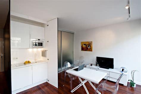 coin cuisine studio coin cuisine caché dans un studio contemporain cuisine