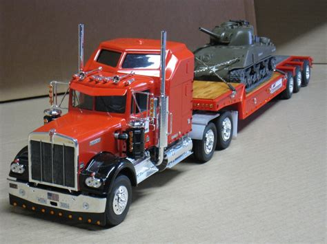model semi trucks kenworth w900 plastic model truck kit 1 25 scale by revell