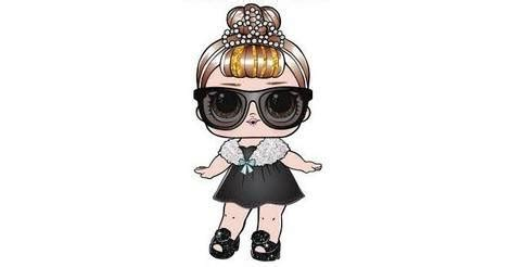baby lol surprise glam glitter action figure
