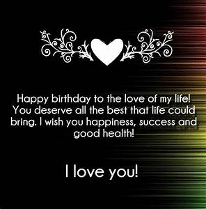 I Love You Happy Birthday Quotes and Wishes | Love Quotes ...