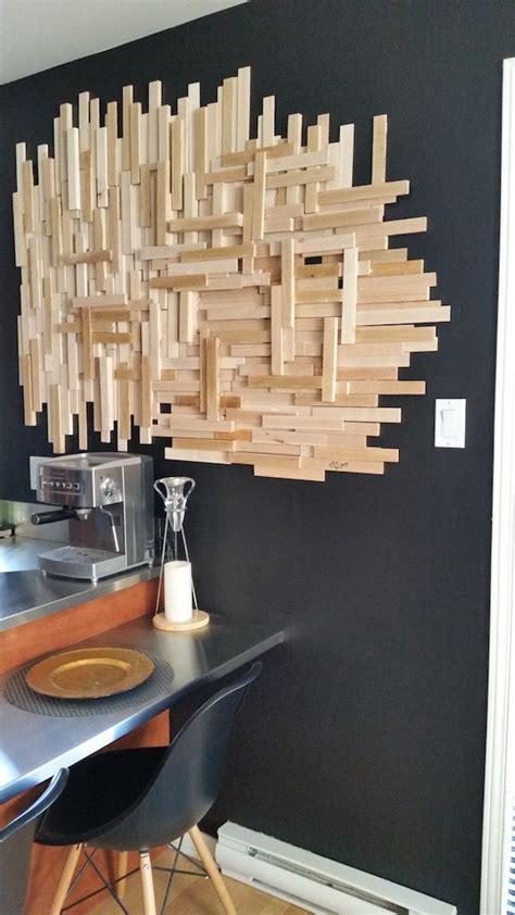 meuble cuisine bois recyclé les 25 meilleures idées concernant des cadres en bois sur