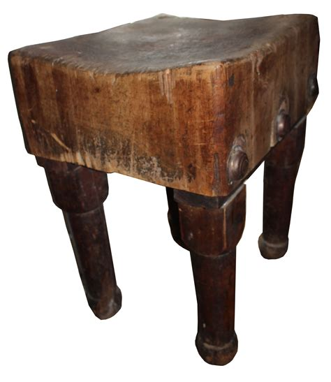 Antique 1850s Butcher Block Chairish
