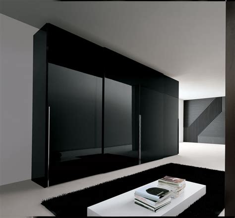 Black Bedroom Wardrobe by Awesome Look Modern Fitted Wardrobes Design For Bedroom 4