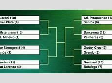 Así serán los octavos de final de la Copa Libertadores