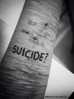 death depression suicide thoughts selfharm suicidaldrams