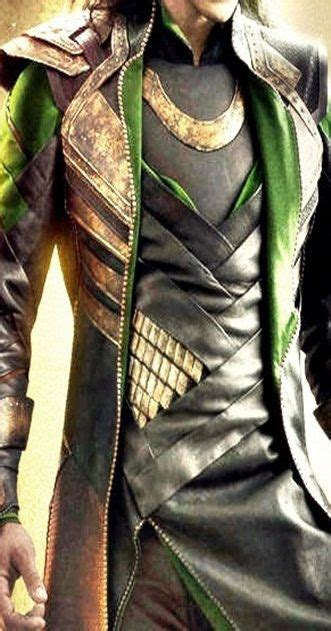 Loki Costume Detail One Day I Will Make Lokis Outfit