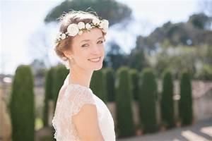 Couronne De Fleurs Mariée : accessoires mariage boheme chic ~ Farleysfitness.com Idées de Décoration