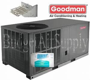 2 1  2 Ton 14 Seer 2 5 Ton Goodman Heat Pump Package Unit
