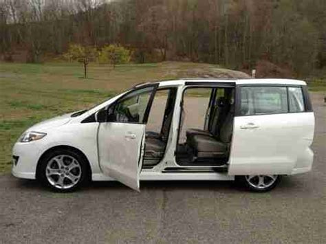 mazda van new buy used 2010 mazda 5 grand touring mini passenger van 4