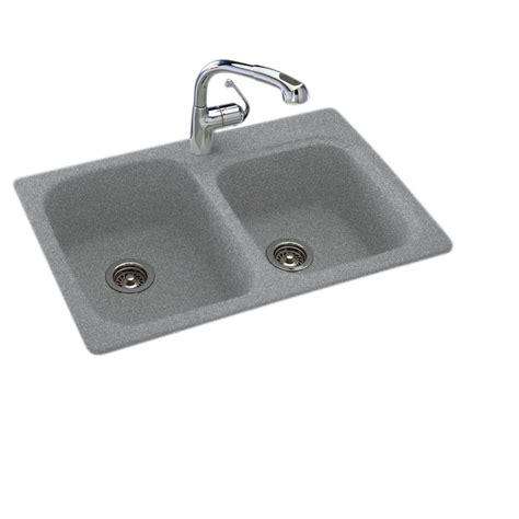 swanstone undermount granite kitchen sink swan drop in undermount solid surface 33 in 1 55 45 8417