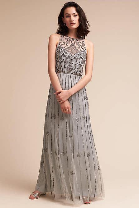 Amada Dress Morning Mist In Bridal Party Bhldn