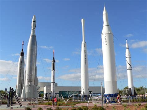 Rocket Garden Kennedy Space Center - Pics about space
