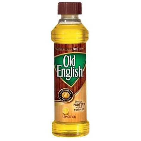 english  oz lemon oil furniture polish