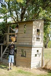 inspirations de cabanes les rever les construire les With construire une cabane de jardin pour enfant