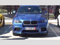 Monte Carlo Blue BMW X6 M YouTube