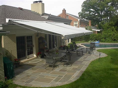 sunair retractable awnings maryland  deck patio awnings