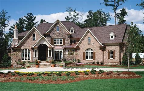 French Country Plan 4,376 Square Feet, 4 Bedrooms, 45