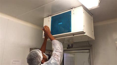 ventilateur chambre froide nettoyage des évaporateurs en chambre froide fha