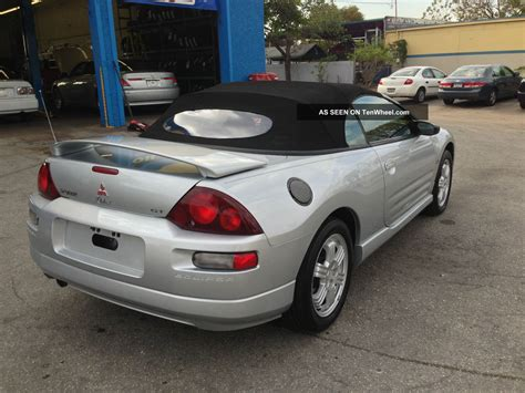 Mitsubishi Eclipse Spyder 2001 by 2001 Mitsubishi Eclipse Spyder Gt Convertible