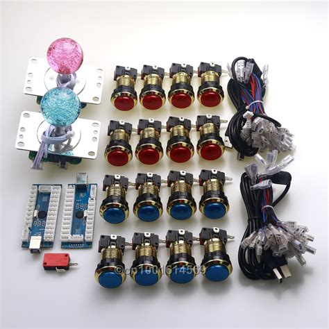New Arcade Diy Kits Parts Led Usb Pc Encoders & Pc Led 48