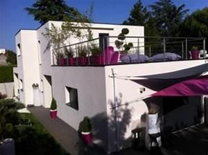 les 25 meilleures idees concernant toit plat sur pinterest With beautiful maison toit plat en l 7 maison de ville avec piscine toit plat