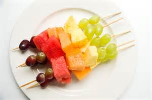 Rainbow Skewer Fruit Salad
