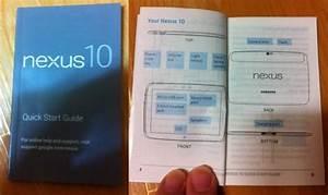 Supposed Nexus 10  U0026quot Quick Start U0026quot  Manual Leaks