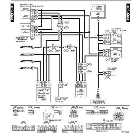 2012 Subaru Impreza Wire Schematic by Secondary Air Valves P2443 And P2441 Page 4 Subaru