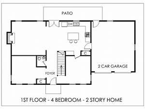 Simple House Indian Design Easy Floor Plan Bedroom