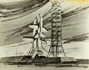 Space Shuttle Concept Art of the 1960s and 1970s ~ Kuriositas