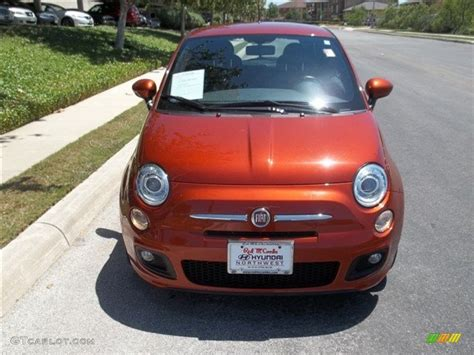 Fiat 500 Orange by 2012 Rame Copper Orange Fiat 500 Sport 80785080 Photo