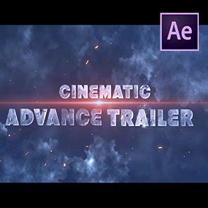 Cinematic Action Movie Or Gaming Trailer Template ...