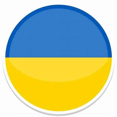 Ukraine Icon Flags Flag Round Icons Circle