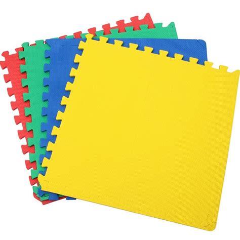 tappeto puzzle gomma tappetino tappeto puzzle maxi colorati gioco bambino 4pz
