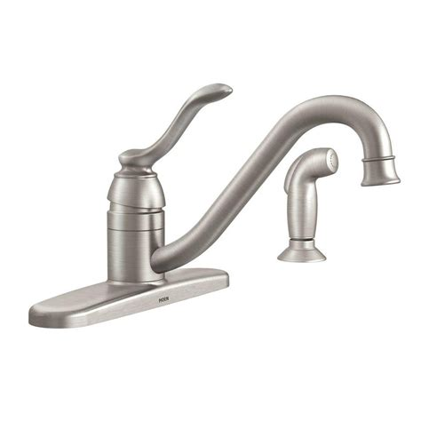 moen torrance kitchen faucet moen torrance 1 handle kitchen faucet leaking outdoor faucet
