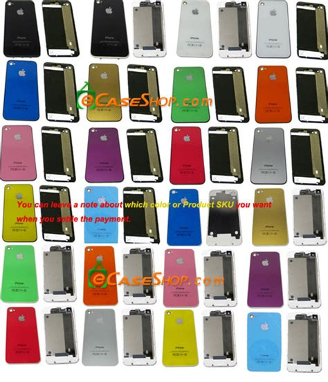 iphone 4 back glass replacement iphone 4 replacement back cover glass black