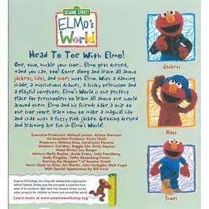 Elmo's World Head to Toe with Elmo DVD