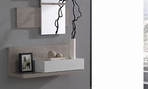 Console Entrée Design : console avec tiroir meuble entree cgrio ~ Premium-room.com Idées de Décoration