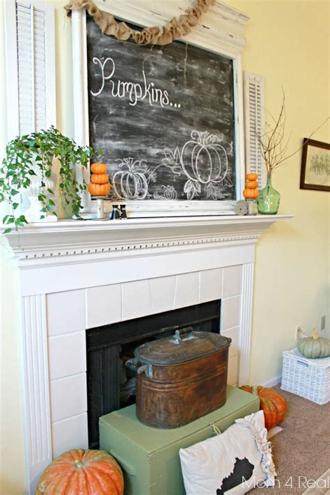 ideas  fall mantel decorations  pinterest fall mantle decor thanksgiving