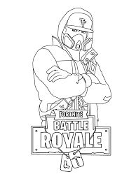 fortnite battle royale coloring pages  printable