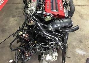 Jdm Mitsubishi 4g63t Turbo Cyclone 6 Bolt Engine With Mt 5