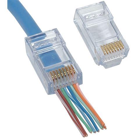 cat5e ez rj45 connectors enviro cams