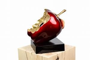 Große Skulpturen Für Wohnzimmer : exklusive apfel skulptur in rot kaufen kunstloft ~ Bigdaddyawards.com Haus und Dekorationen