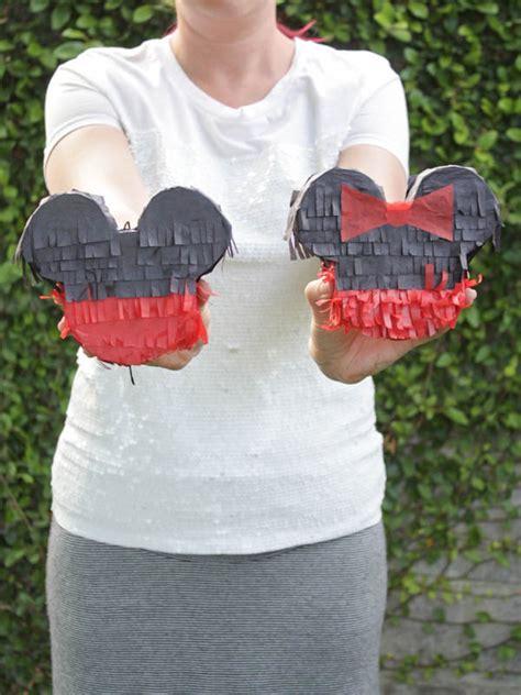 diy mickey mouse pinata  fairy tale life