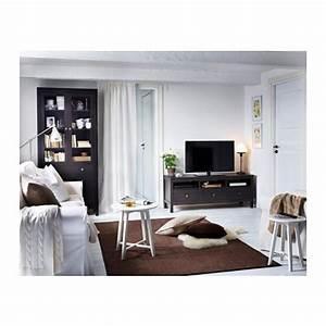Ikea Couchtisch Hemnes : hemnes glass door cabinet with 3 drawers black brown 90x197 cm ikea ~ Orissabook.com Haus und Dekorationen
