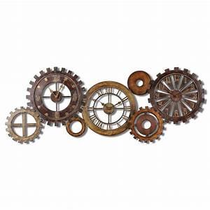 Uttermost Spare Parts Clock 6788