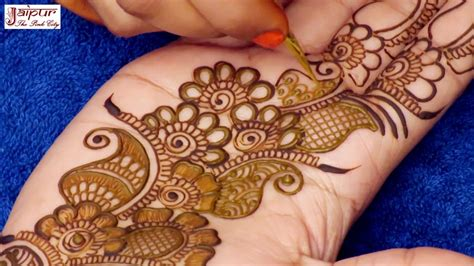 mehndi design  beautiful floral eid mehndi design
